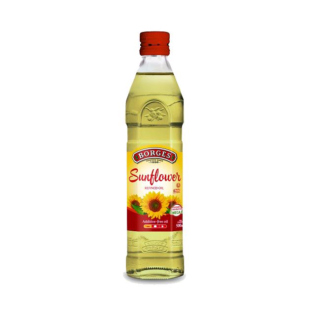【售完】葵花油500ml-100%純葵花油,油性安定耐高溫,是煎煮炒炸等一般家庭烹調最經濟實惠的選擇,500毫升裝方便攜帶。 1