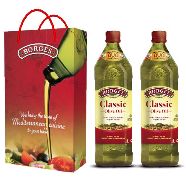 中味橄欖油1L-100%純橄欖油,果香柔和適中,適合涼拌、煎煮炒炸等各種烹調方式。 3