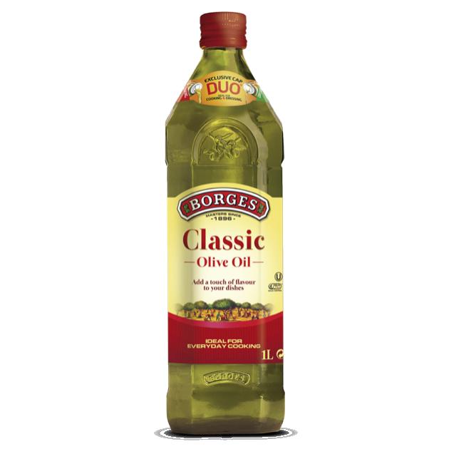 中味橄欖油1L-100%純橄欖油,果香柔和適中,適合涼拌、煎煮炒炸等各種烹調方式。 1