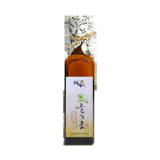 韓國千年味人初榨冷壓紫蘇油 - 100%韓國原裝原瓶進口, omega-3含量平均高達62%, 是攝取植物性omega-3最推薦的選擇! 1