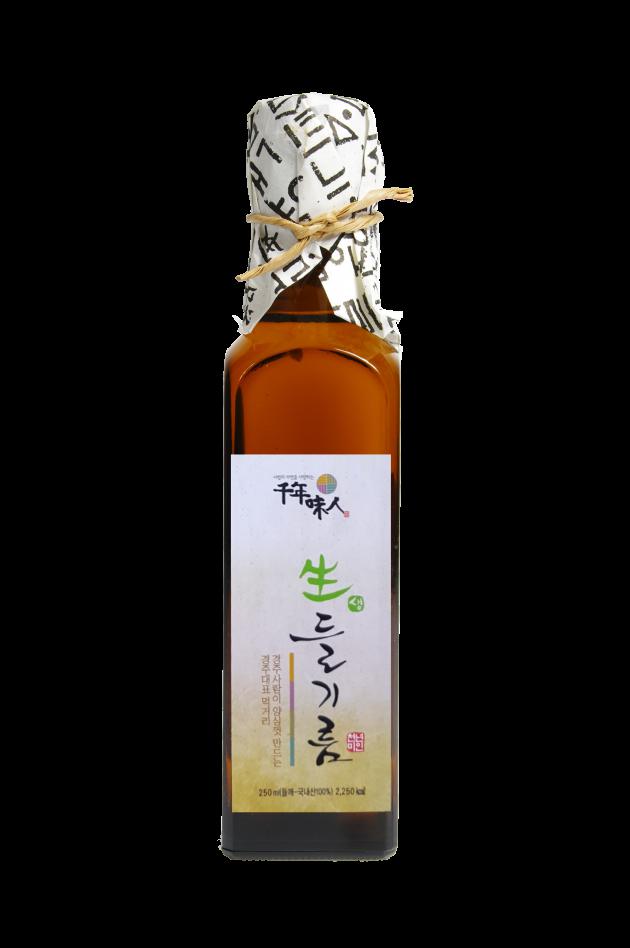 韓國千年味人初榨冷壓紫蘇油 - 100%初榨冷壓紫蘇油, 100%韓國原裝原瓶進口, omega-3含量平均高達62%, 是攝取植物性omega-3最推薦的選擇! 1