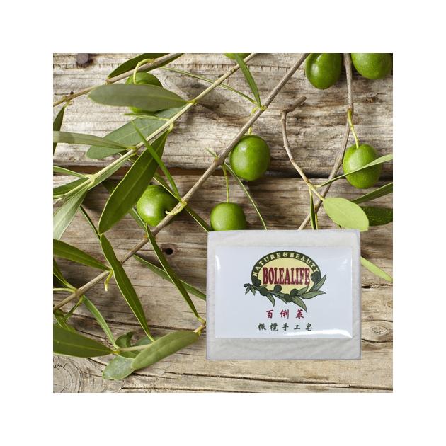 百俐萊橄欖手工皂70g - 含72%百格仕原味Extra Virgin橄欖油, 薰衣草香, 全膚質, 敏感肌適用! 1