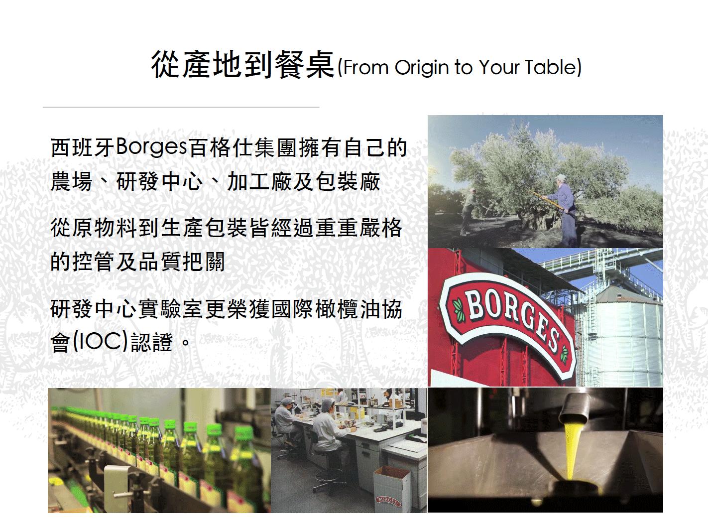 從產地到餐桌(From Origin to Your Table)