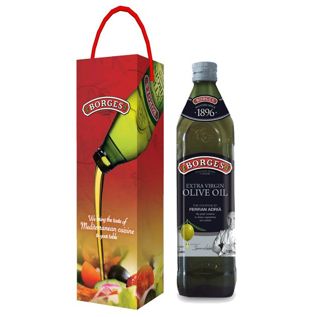 名廚嚴選橄欖油500ml-米其林三星名廚Ferran Adrià嚴選三種頂級橄欖果,100%第一道初榨冷壓,果香馥郁且口感和諧滑順。 2