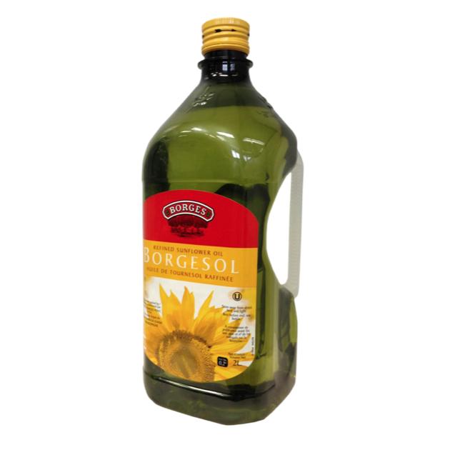 葵花油2L-100%純葵花油,油質穩定耐高溫,是煎煮炒炸等一般家庭烹調最經濟實惠的選擇,2公升裝更划算。 1