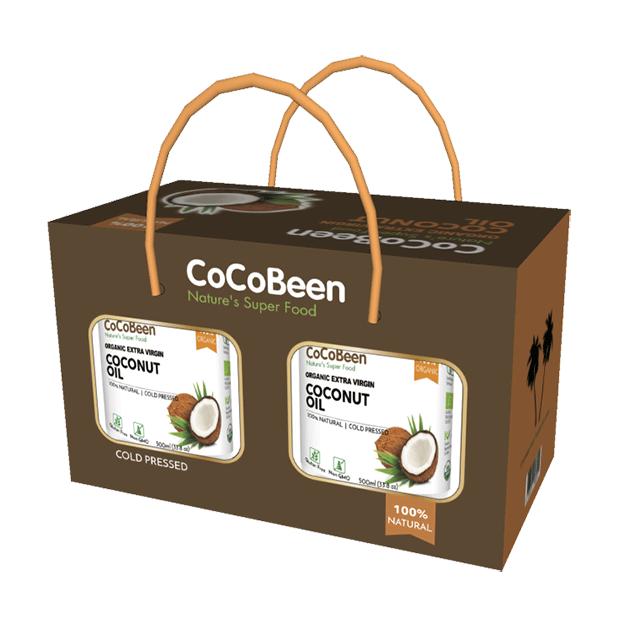 斯里蘭卡CoCoBeen有機初榨冷壓椰子油500ml - 中鏈脂肪酸(MCT)含量高達66.2%, 通過美國、歐盟、日本、台灣農糧署有機認證。 2