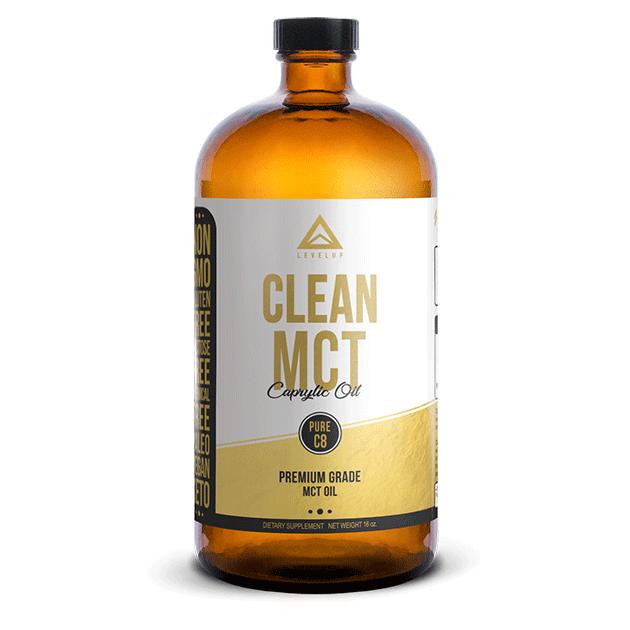 美國LEVELUP純淨C8中鏈油473ml - 100%純C8 MCT中鏈脂肪酸, 美國原裝原瓶進口, 酮體能量轉換效率是一般MCT油的3倍以上。 1
